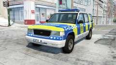 Gavril Roamer spanish police v3.7 для BeamNG Drive