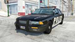 Gavril Grand Marshall Police Interceptor для BeamNG Drive