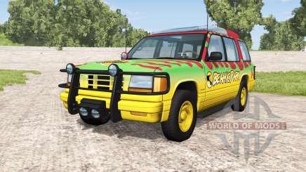 Gavril Roamer Tour Car Beamic Park v1.1 для BeamNG Drive