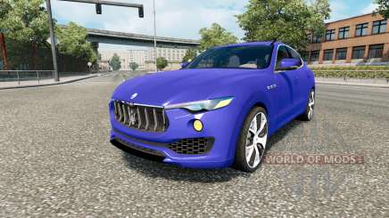 Maserati Levante 2017 для Euro Truck Simulator 2