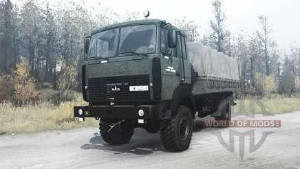 МАЗ 5316 для MudRunner