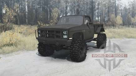 Chevrolet K5 Blazer M1008 для MudRunner
