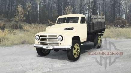 УАЗ 300 опытный 1949 для MudRunner