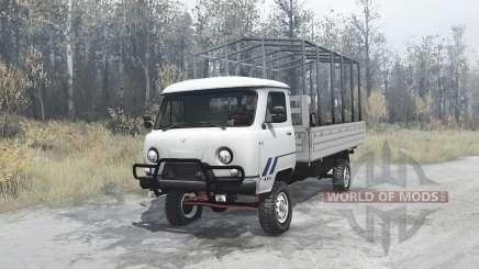 УАЗ 3303 удлинённый для MudRunner
