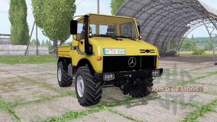 Mercedes-Benz Unimog U2100 v3.1 для Farming Simulator 2017