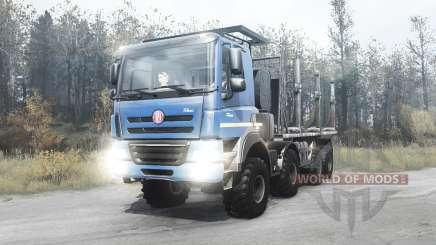 Tatra Phoenix T158 8x8 2012 для MudRunner