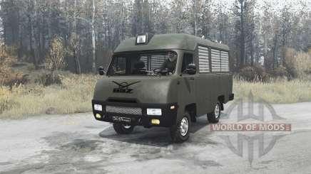 УАЗ 2925 для MudRunner