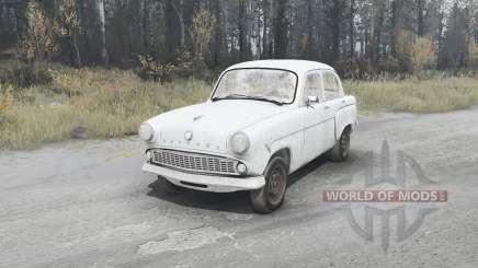 Москвич 407 1958 для MudRunner