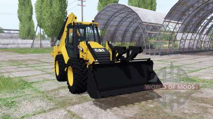 Caterpillar 420F для Farming Simulator 2017