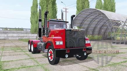 Mack Super-Liner Day Cab для Farming Simulator 2017