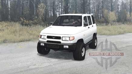 УАЗ 3160 1997 для MudRunner