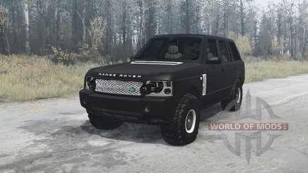 Land Rover Range Rover Supercharged (L322) 2005 для MudRunner