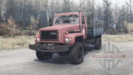 ГАЗ 3308 Садко для Spintires MudRunner