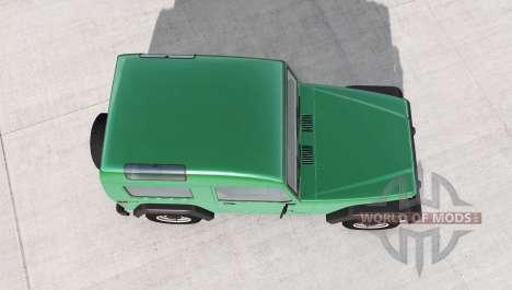 Ibishu Hopper Tall Top v1.1 для BeamNG Drive