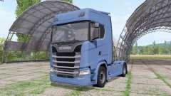 Scania S 730 V8 2016 для Farming Simulator 2017
