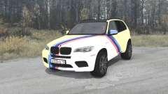 BMW X5 M (E70) Smotra Run 2013 для MudRunner