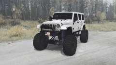 Jeep Wrangler Unlimited (JK) 2010 для MudRunner