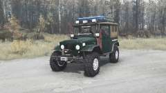Toyota Land Cruiser 40 Canvas Top (FJ40L)