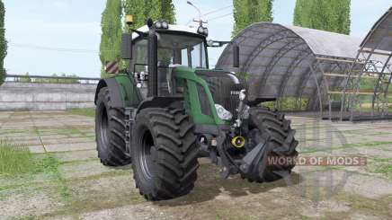 Fendt 828 Vario v1.1 by Fruktor для Farming Simulator 2017