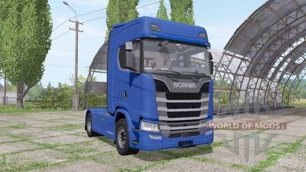 Scania S 520 v2.0 для Farming Simulator 2017