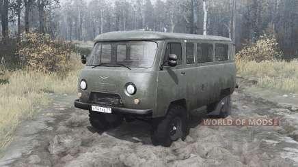 УАЗ 2206 1985 v2.1 для MudRunner