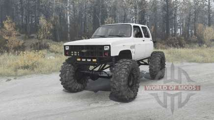 Chevrolet K30 crawler для MudRunner