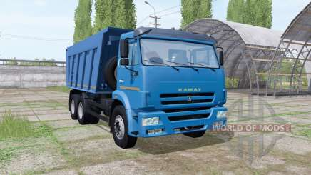 КАМАЗ 6520 2009 для Farming Simulator 2017