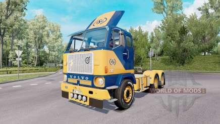 Volvo F88 6x4 tractor 1965 для Euro Truck Simulator 2