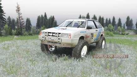 ВАЗ 2108 ралли v1.2 для Spin Tires