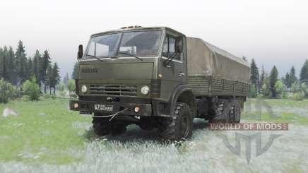 КамАЗ-43101 by Aleksandr для Spin Tires