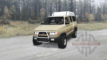 УАЗ 2760 Сталкер для MudRunner