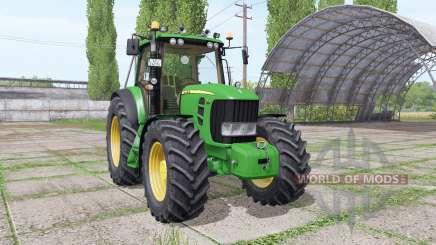 John Deere 7530 Premium v4.0 для Farming Simulator 2017