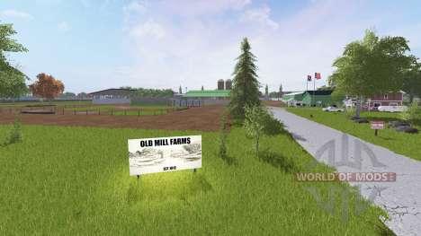 Old Mill Farms для Farming Simulator 2017