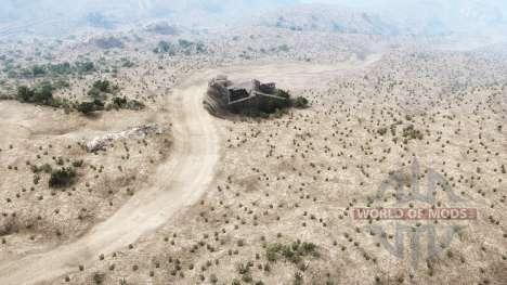 Martinez Canyon для Spintires MudRunner