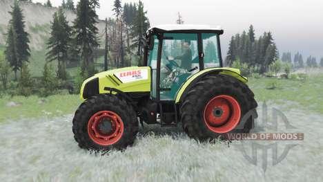CLAAS Axos 330 для Spin Tires