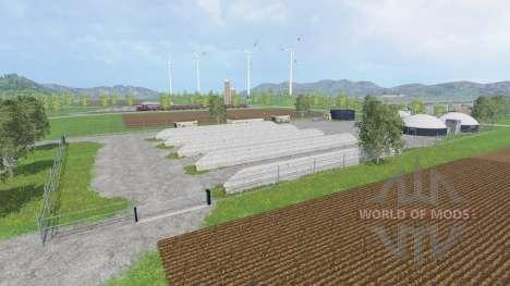 Breisgau для Farming Simulator 2015
