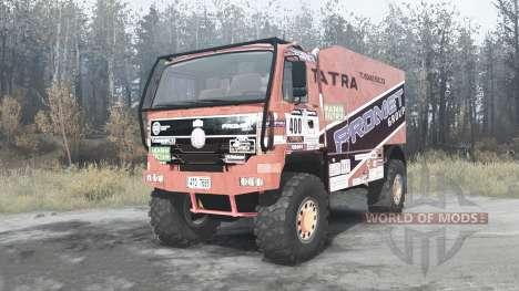 Tatra T815 4x4 Dakar для Spintires MudRunner