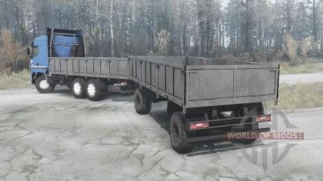 МАЗ 6312А9 для Spintires MudRunner