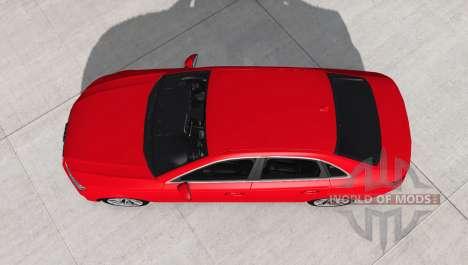 Audi A4 TFSI quattro S line (B9) 2016 для BeamNG Drive