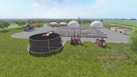 Саксония для Farming Simulator 2017