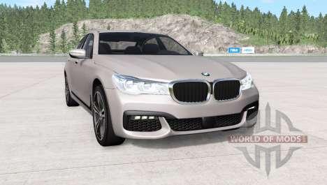 BMW 750i xDrive M Sport (G11) 2016 для BeamNG Drive