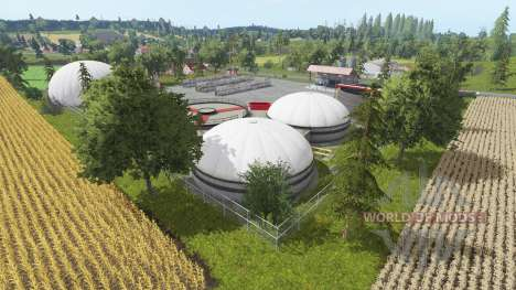Фермерская долина для Farming Simulator 2017