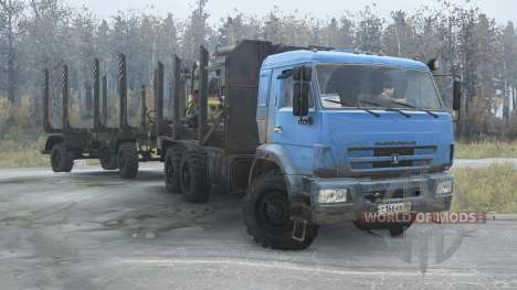 КАМАЗ 43118-24 2010 для Spintires MudRunner