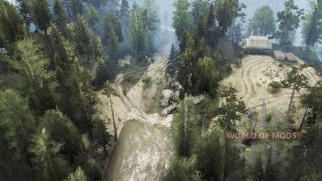 Busted Bridges для Spintires MudRunner