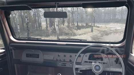 Toyota Land Cruiser 40 6x6 для Spintires MudRunner