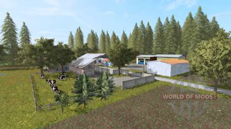 Люблинский край v3.0 для Farming Simulator 2017