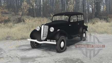 ГАЗ М1 1936 для MudRunner