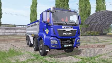MAN TGS 35.440 8x8 Meiller 2012 для Farming Simulator 2017