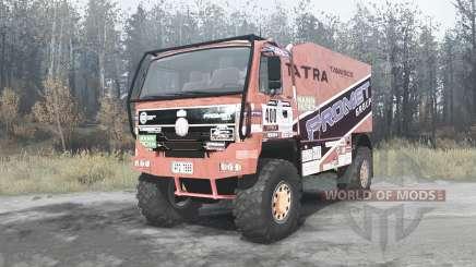 Tatra T815 4x4 Dakar для MudRunner