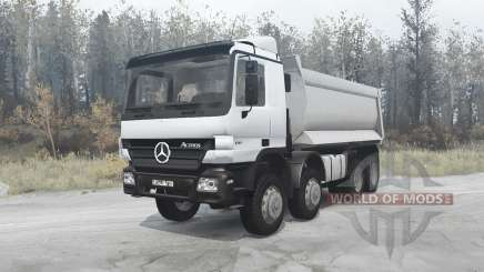 Mercedes-Benz Actros 4141 (MP2) 2003 для MudRunner